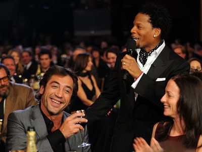 Javier Bardem, C'Mon, Tell Us, What Was the First Award You Ever Won?