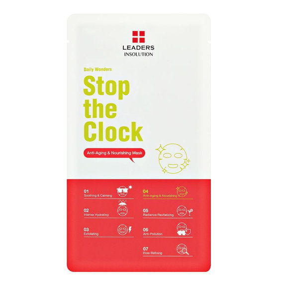 LEADERS Daily Wonders Stop the Clock Anti-Aging Mask