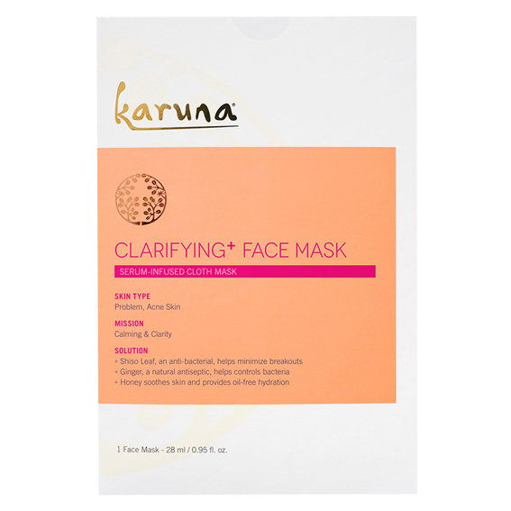Karuna Clarifying+ Single Face Sheet Mask