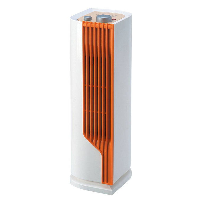 Sunpentown SPT Mini Tower Ceramic Heater with Fan
