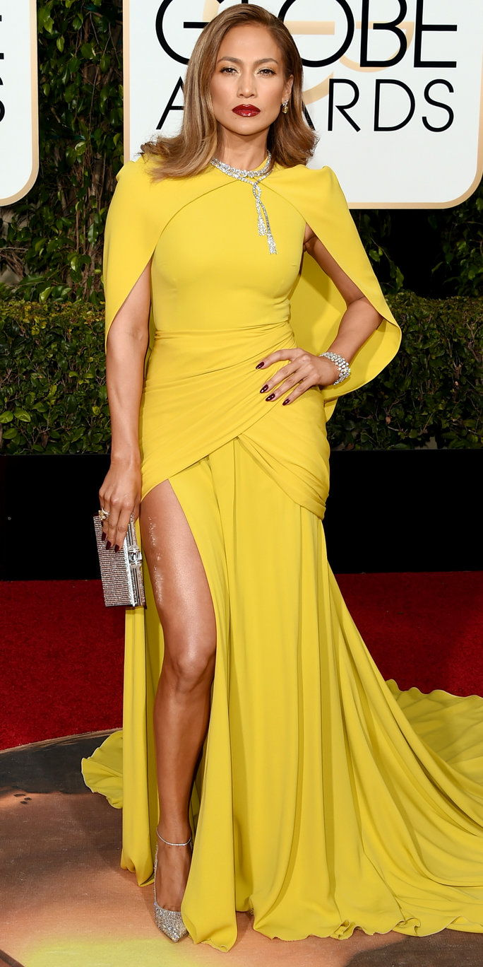 Jennifer Lopez 2016 Golden Globes