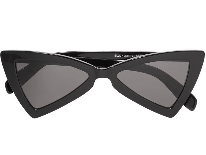 Hitam Cat Eye Sunglasses