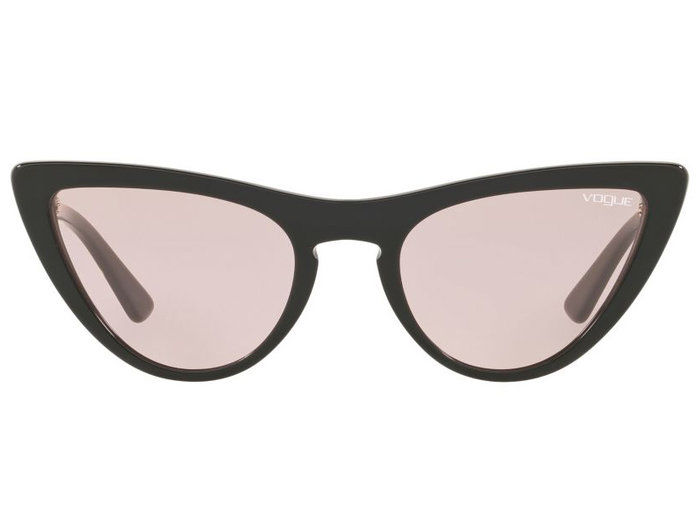Merah jambu Lensed Cat Eye Sunglasses