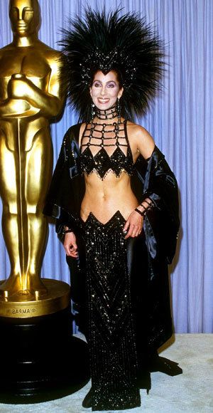 Cher - Most Outrageous Oscars Looks - Bob Mackie