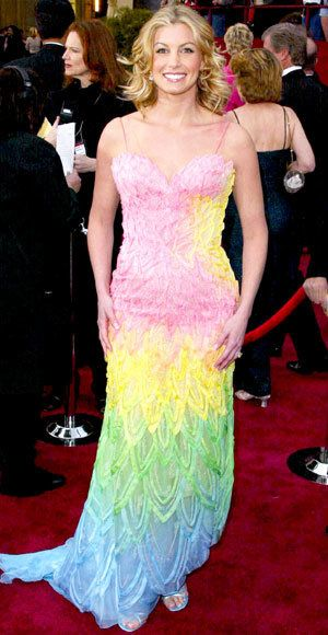 viera Hill - Most Outrageous Oscars Looks - Versace