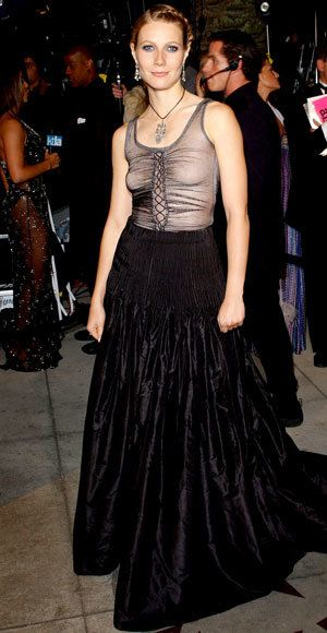 Gwyneth Paltrow - Most Outrageous Oscars Looks - Alexander McQueen