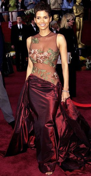 Halle Berry - Most Outrageous Oscars Looks Ever - Elie Saab