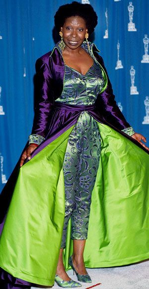 Whoopi Goldberg - Most Outrageous Oscars Looks