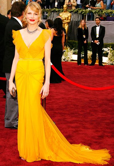 Michelle Williams - Oscars Best - Vera Wang