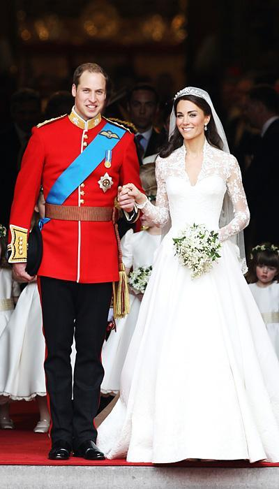 Selebriti Wedding Dresses - Kate Middleton