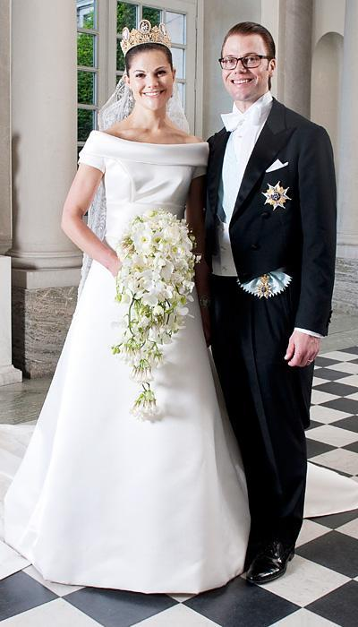 Selebriti Wedding Dresses - Crown Princess Victoria of Sweden
