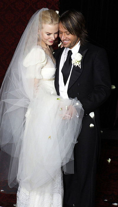 Selebriti Wedding Dresses - Nicole Kidman