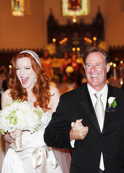 Selebriti Wedding Dresses - Marcia Cross