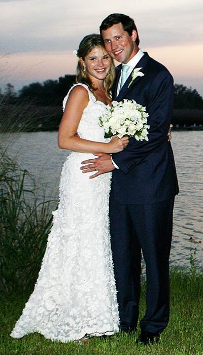 Selebriti Wedding Dresses - Jenna Bush Hager