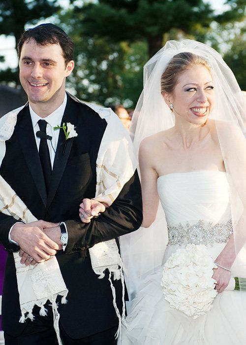 Selebriti Wedding Dresses - Chelsea Clinton