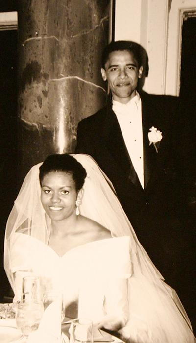 Selebriti Wedding Dresses - Michelle Obama