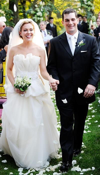 Selebriti Wedding Dresses - Alyssa Milano