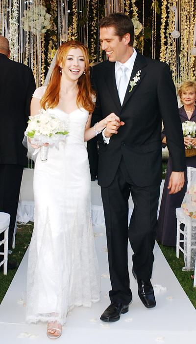 Selebriti Wedding Dresses - Alyson Hannigan