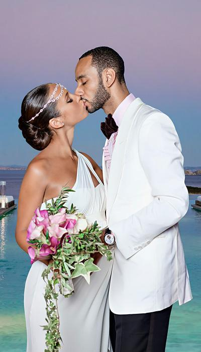 Selebriti Wedding Dresses - Alicia Keys