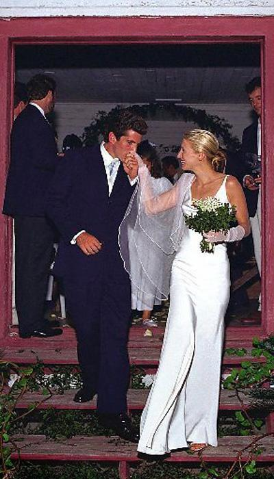 Selebriti Wedding Dresses - Carolyn Bessette