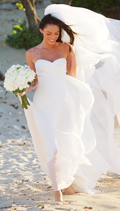 Selebriti Wedding Dresses - Megan Fox