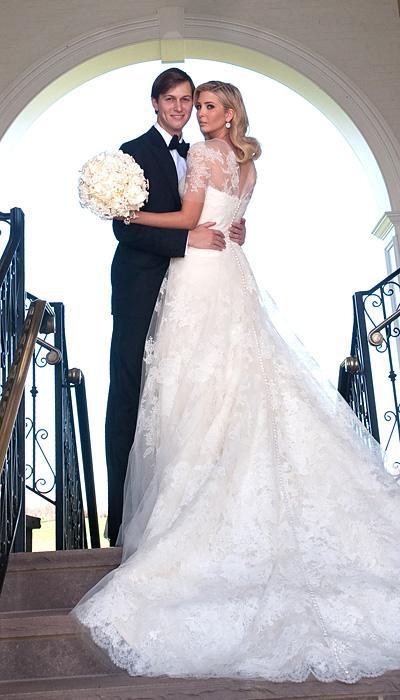 Selebriti Wedding Dresses - Ivanka Trump
