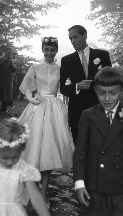 Selebriti Wedding Dresses - Audrey Hepburn