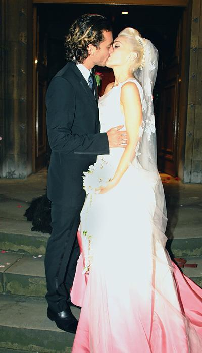 Selebriti Wedding Dresses - Gwen Stefani