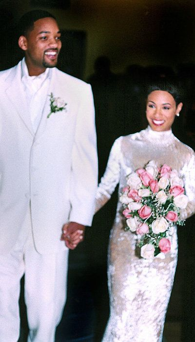 Selebriti Wedding Dresses - Jada Pinkett