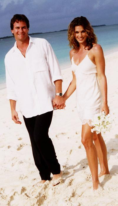 Selebriti Wedding Dresses - Cindy Crawford