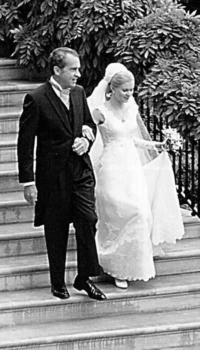 Selebriti Wedding Dresses - Tricia Nixon
