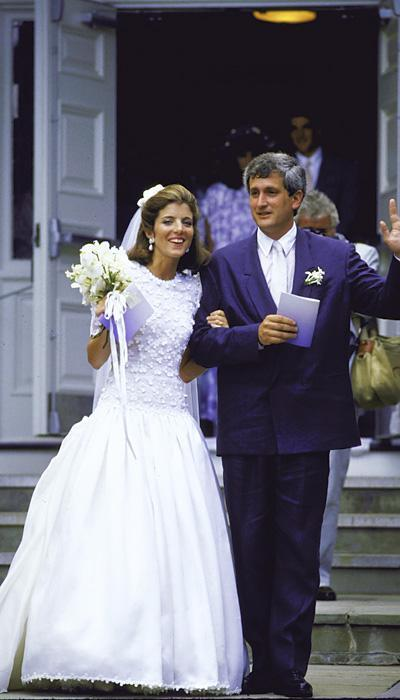 Selebriti Wedding Dresses - Caroline Kennedy