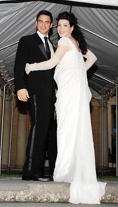 Selebriti Wedding Dresses - Julianna Margulies