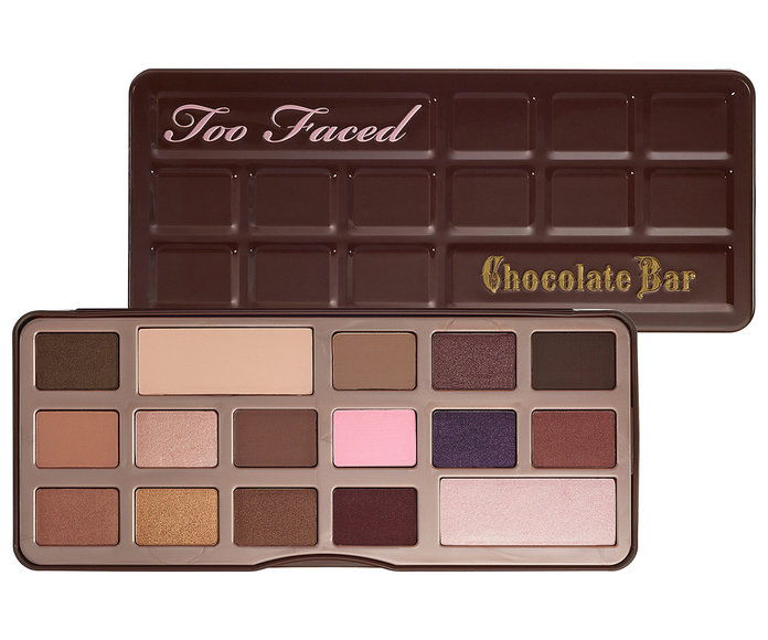 Tiež Faced The Chocolate Bar Eye Palette