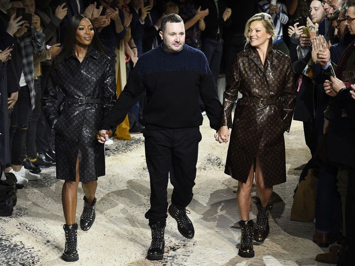 Naomi Campbell, Kim Jones, Kate Moss