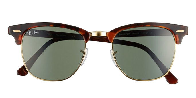 'Classic Clubmaster' 51mm Sunglasses