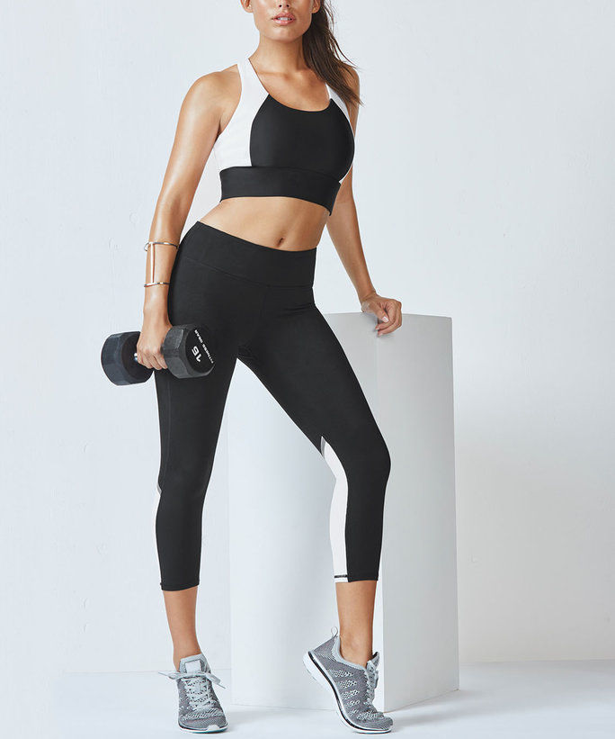 Fabletics' Karina High Support Sports Bra and Layce Capri