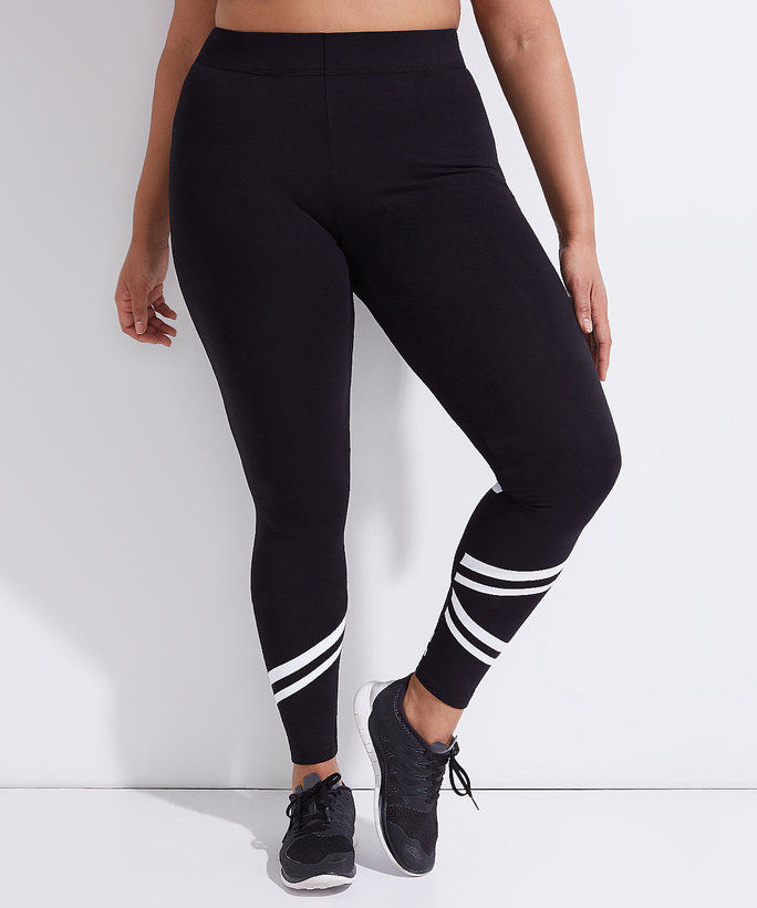 pruh Bryant's Active Legging with Racer Stripes