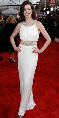 Anne Hathaway, Azzaro, Prom Dresses
