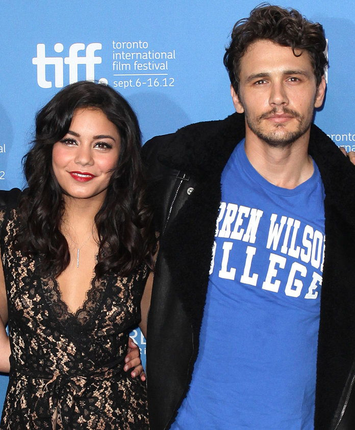 Vanessa Hudgens and James Franco