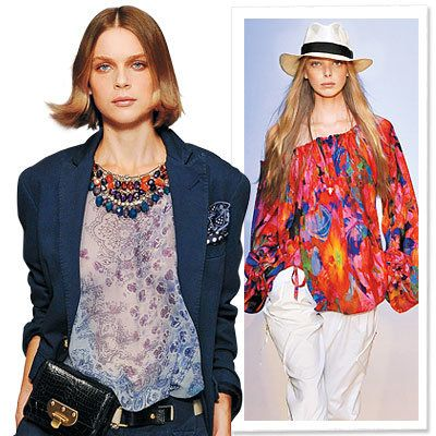 pružina Trends 2009, Clothes We Love, Print Blouse