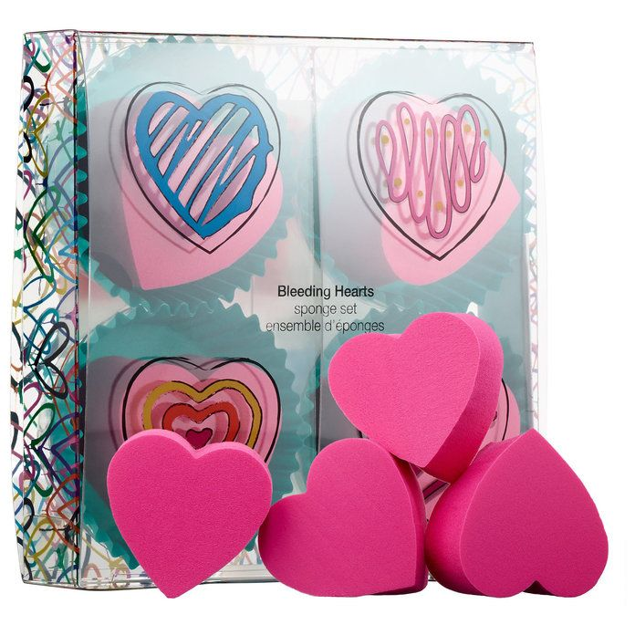 J Goldcrown for Sephora Collection: Bleeding Hearts Sponge Set