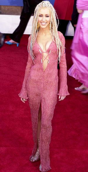 christina Aguilera - Trish Summerville - Wild Grammy Looks
