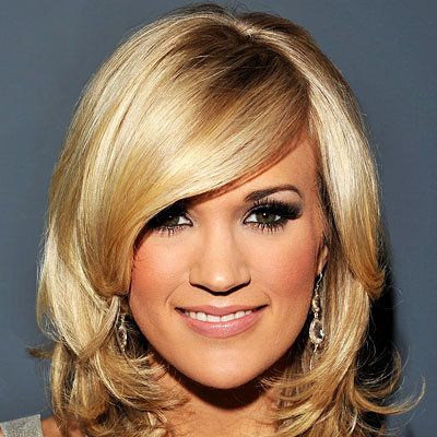 Carrie Underwood - The New Flip - Top 10 Party Hairstyles of 2010