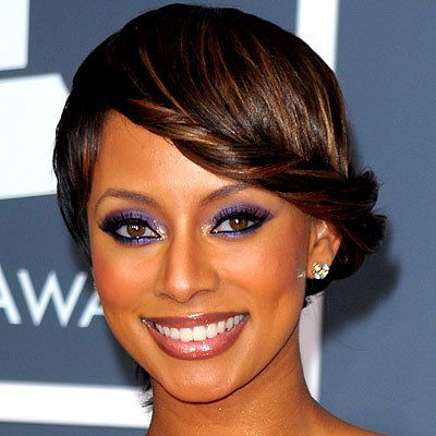 Keri Hilson - Dressed Up Pixie - Top 10 Party Hairstyles of 2010