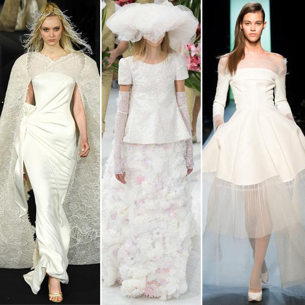 svadobné Looks from Couture Fashion Week