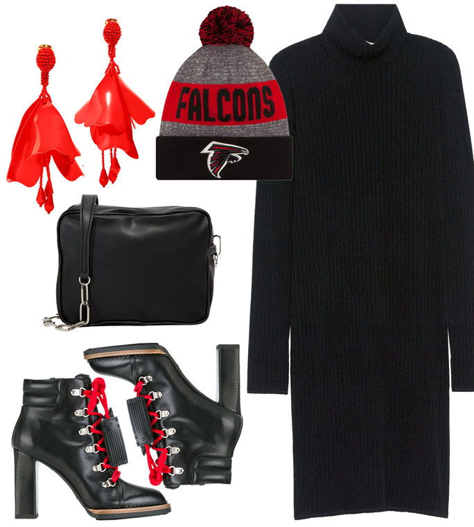 Super Bowl Outfit - Falcons