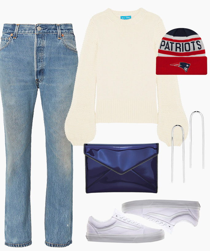 Super Bowl Outfit - Patriots