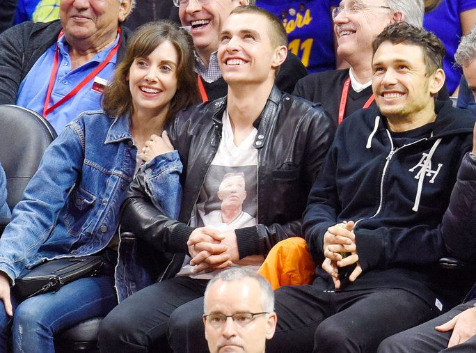 Alison Brie, Dave Franco, and James Franco