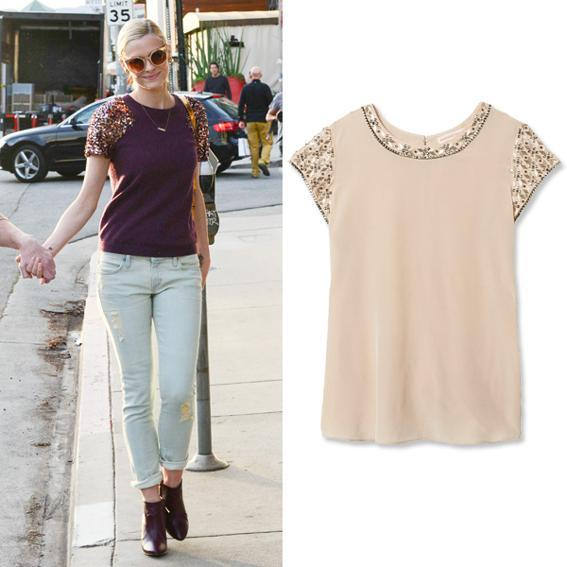 Bejeweled Tee: Jaime King